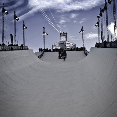 Dew Tour Pipe