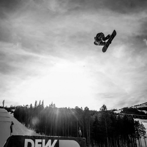 Jamie Anderson shot by Joseph Large