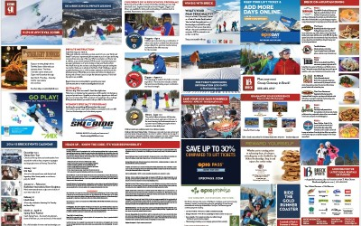 2014.2015 Breckenridge Ski Resort Trail Map shot by Joseph Large