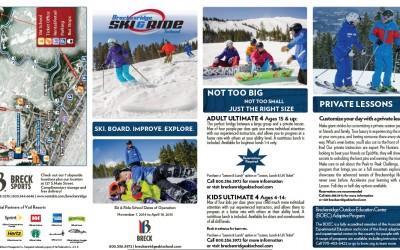 Breckenridge Ski and Ride School Brochure shot by Joseph Large
