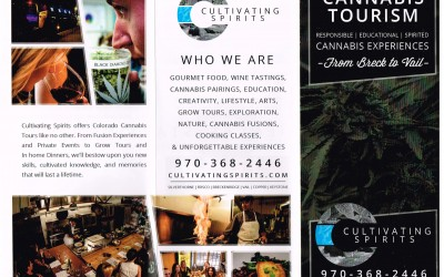 Cultivating Spirits Brochure 2 Page 1 shot by Joseph Large