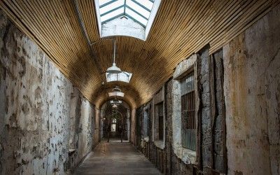 Eastern State Penitentiary shot by Joseph Large 31