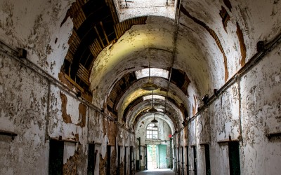 Eastern State Penitentiary shot by Joseph Large 41