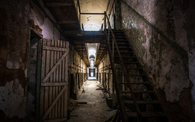 Eastern State Penitentiary shot by Joseph Large 8-2