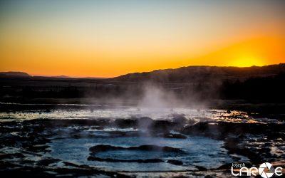Geysir Pre Eruption