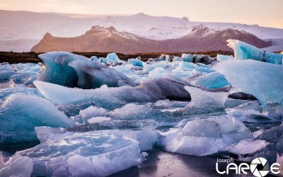 Glacier Lagoon shot by Joseph Large