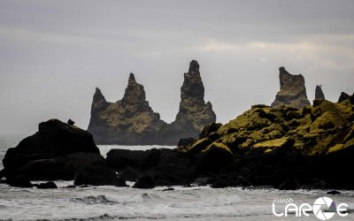 Rock Formation at Vik shot by Joseph Large