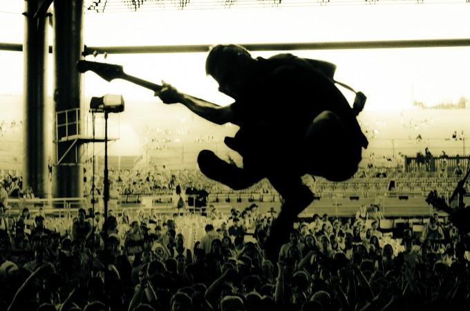 Anti-Flag Vans Warped Tour Shoot First Midwest Bank Ampitheatre  Tinley Park, IL