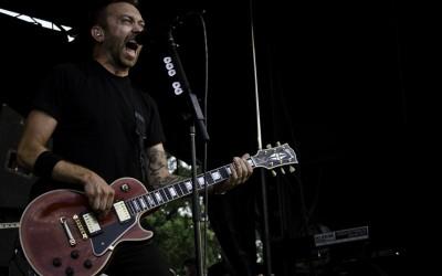 Tim McIlrath of Rise Against