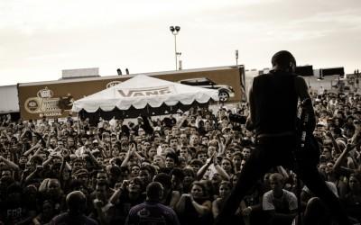 Zach Blair of Rise Against