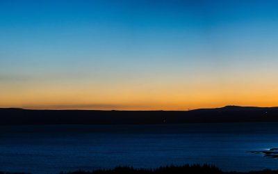 Icelandic Lake Sunset shot by Joseph Large