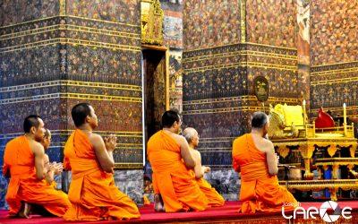 Praying Monks shot by Joseph Large